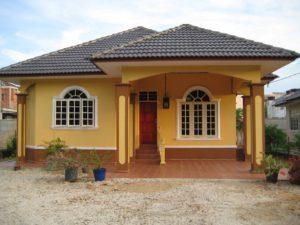rumah idaman sederhana di desa yang asri - soumanews